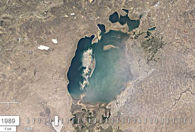 Aral Gölü'nün 32 yıllık değişimi - Page 4
