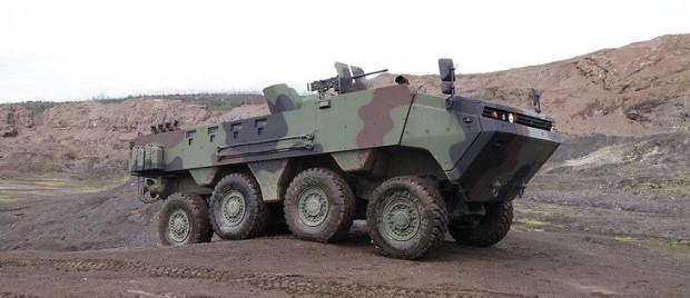 ARMA 8x8 zırhlı aracının özellikleri - Page 1