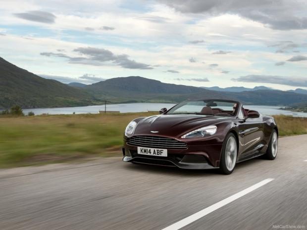 Aston Martin Vanquish Volante 2015 - Page 1