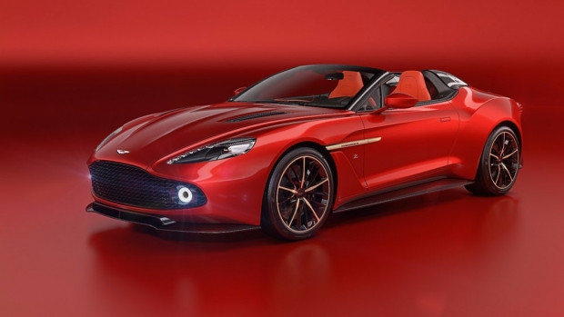 Aston Martin Vanquish Zagato Volante 2017 - Page 1