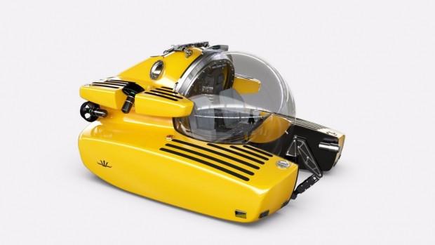 Aston Martin'in yeni Triton denizaltısı - Page 1