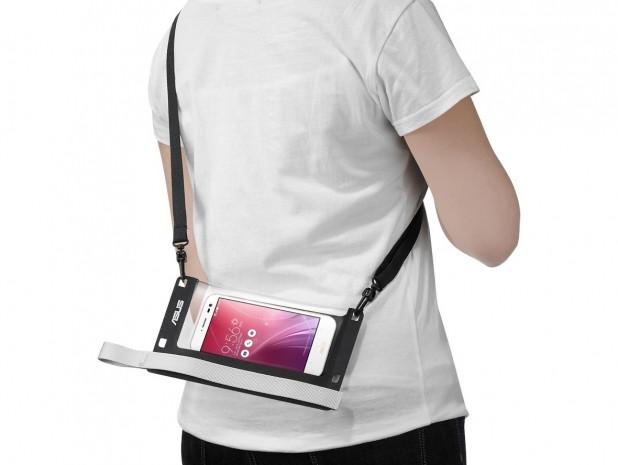 Asus ZenPouch ile telefonu kumdan ve sudan koruyun - Page 1