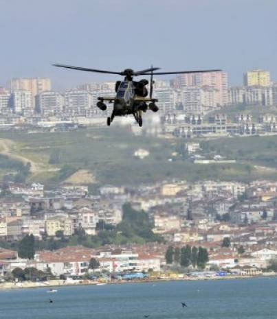 İlk Helikopterimiz ATAK'ın gösterisinden kareler - Page 1
