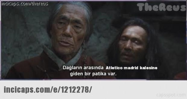 Atletico Madrid-Galatasaray maçı capsleri - Page 1