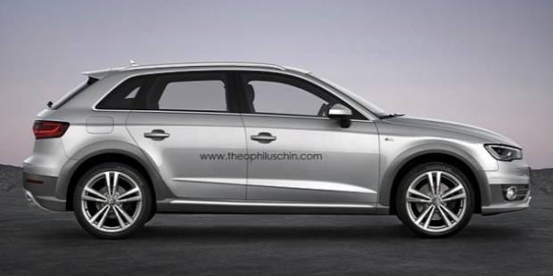 Audi A3 Sportback'in Allroad varyantı tasarlandı - Page 3