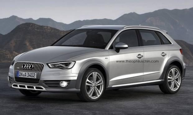 Audi A3 Sportback'in Allroad varyantı tasarlandı - Page 4