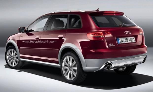 Audi A3 Sportback'in Allroad varyantı tasarlandı - Page 2