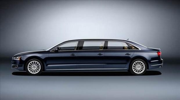 Audi amiral gemisi olan A8 L'nin limuzin versiyonu - Page 2