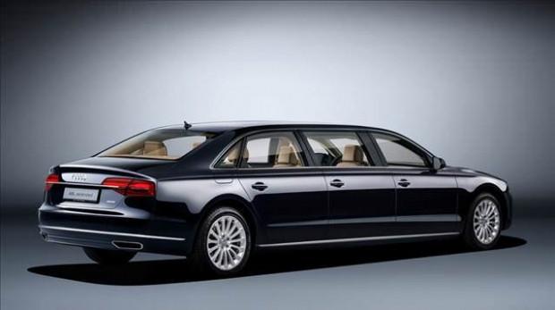 Audi amiral gemisi olan A8 L'nin limuzin versiyonu - Page 3