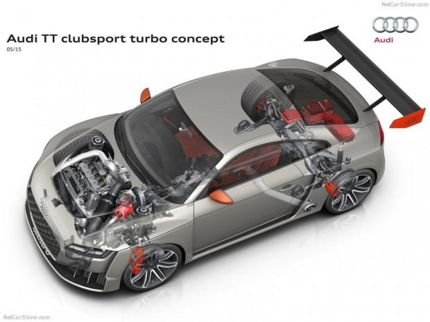 Audi TT Clubsport Turbo konsept - Page 1