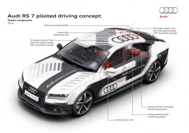 Audi'nin self-driving RS 7 test sürüşü - Page 4