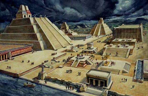 Aztek, İnka ve Mayaların hayrete düşüren başkentleri - Page 4
