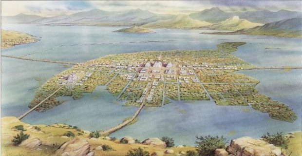 Aztek, İnka ve Mayaların hayrete düşüren başkentleri - Page 1
