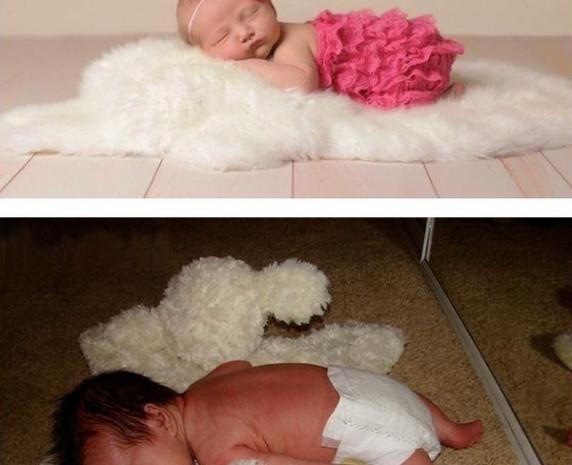 Bakın beğendiğiniz bebek fotoğrafları nasıl çekiliyor - Page 3