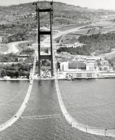 Bakın ilk Boğaz köprüsü nasıl yapıldı? - Page 3