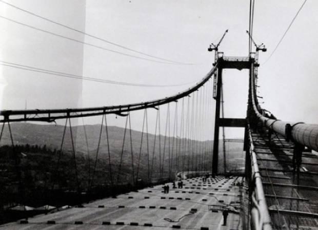 Bakın ilk Boğaz köprüsü nasıl yapıldı? - Page 4