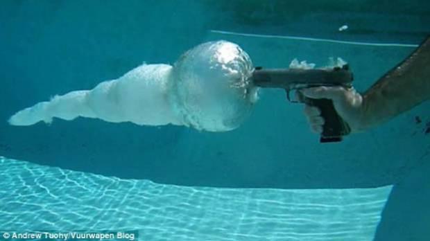 Bakın suyun direnci mermileri neye dönüştürüyor - Page 2