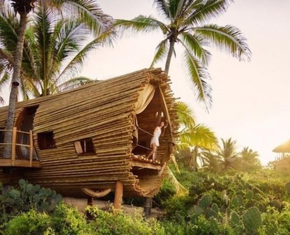 Bambaşka bir ağaç ev, rezidansdan farkı yok! - Page 1