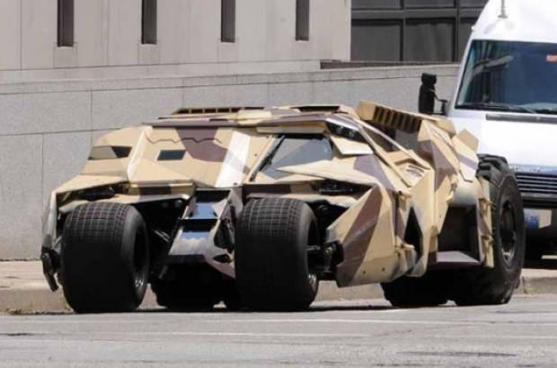 Batman filmindeki Batmobile gerçek oldu - Page 1