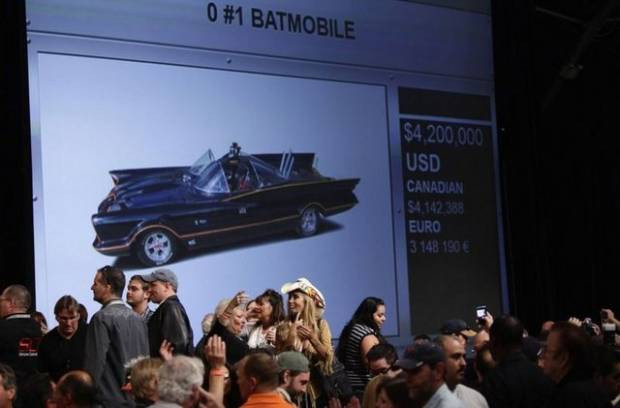 Batmobile 4.2 milyon $'a satıldı! - Page 3
