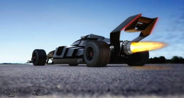 Batmobil'in Formula 1aracı ortaya çıktı - Page 4