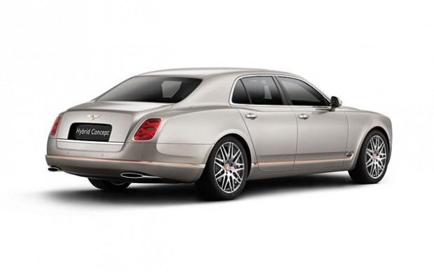 Bentley'den, hibrit konsept Mulsanne! - Page 2