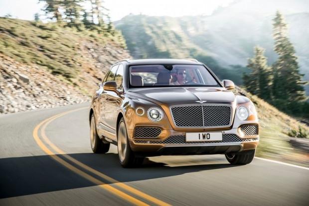 Bentley'nin yeni SUV'u Bentayga sızdı - Page 1