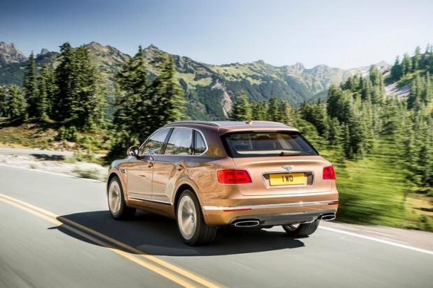 Bentley'nin yeni SUV'u Bentayga sızdı - Page 2