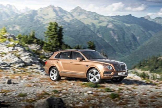 Bentley'nin yeni SUV'u Bentayga sızdı - Page 4