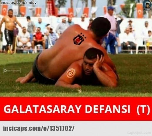 Beşiktaş - Galatasaray 'caps'leri sosyal medyayı salladı - Page 4