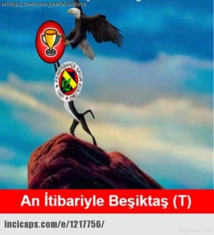 Beşiktaş - Galatasaray derbi capsleri - Page 1