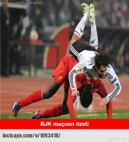 Beşiktaş - Liverpool maçı capsleri - Page 3