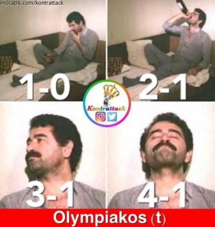 Beşiktaş, Olympiakos'u 4-1 yendi capsler coştu - Page 1