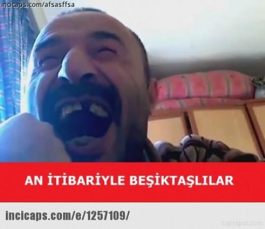 Beşiktaş şampiyon oldu, capsler patladı - Page 1