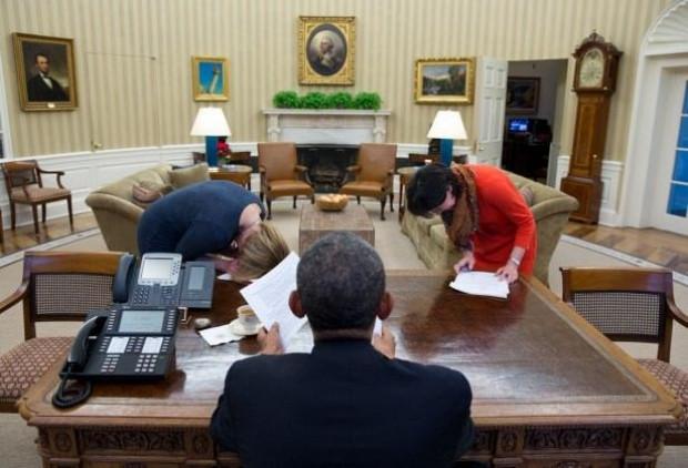 Beyaz Saray, 2014 yılının en iyi fotoğraflarını yayınladı - Page 1