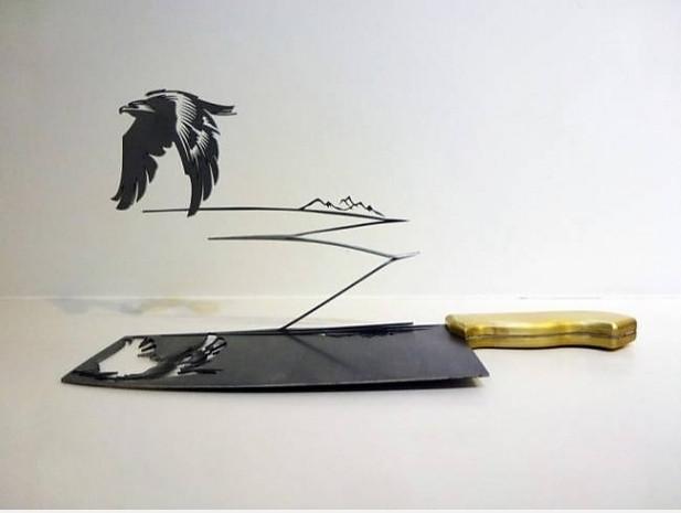 Bıçak ve satırla yapılmış 11 yaratıcı eser - Page 2