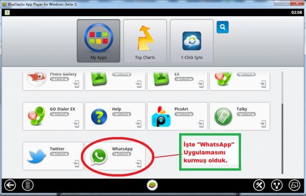 Bilgisayarlar için Whatsapp yayınlandı! - Page 1