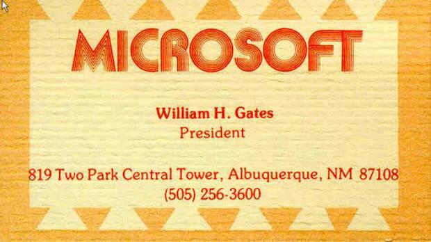 Bill Gates'in hayatından kareler - Page 2
