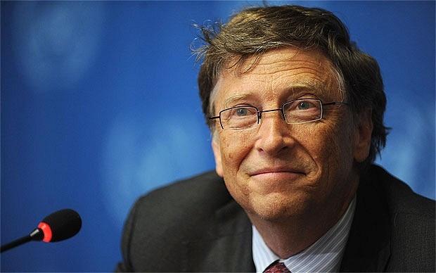 Bill Gates:Yerde 100 dolar görsem alırım! - Page 1