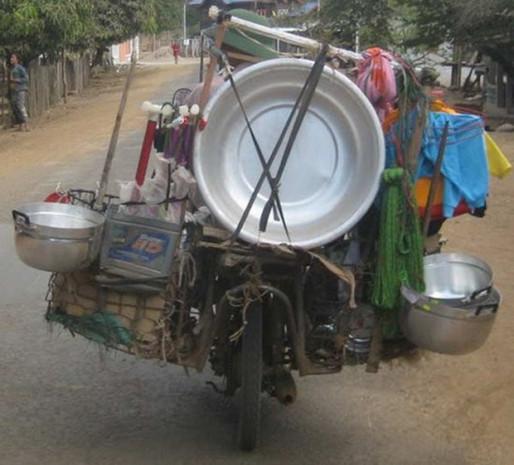 Bir motosikletle neler taşınabilir? - Page 2