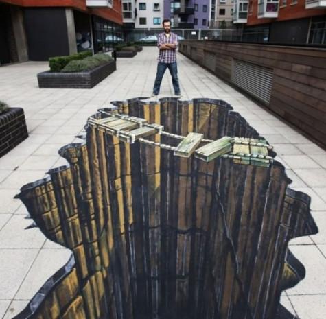 Birbirinden etkileyici 3 boyutlu sokak sanatı harikaları - Page 2