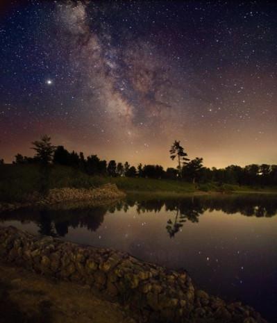 Birbirinden güzel fotoğraflarla samanyolu galaksisi - Page 1