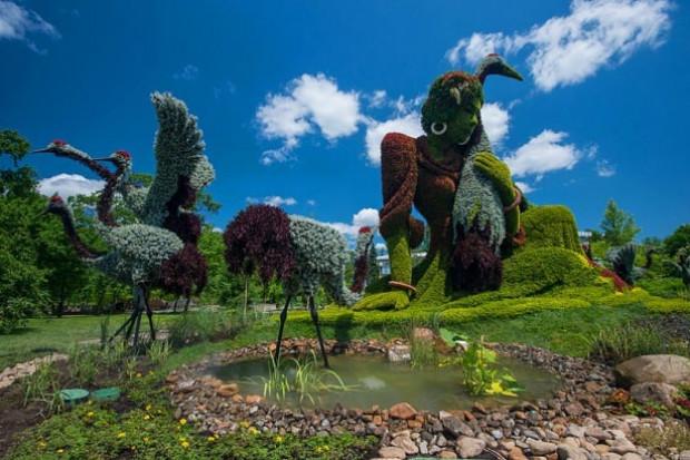 Bitkilerden yapılmış canlı heykeller - Page 4