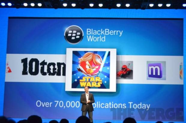 BlackBerry 10, geniş bir uygulama yelpazesiyle kullanıcıların karşısına çıkacak - Page 1