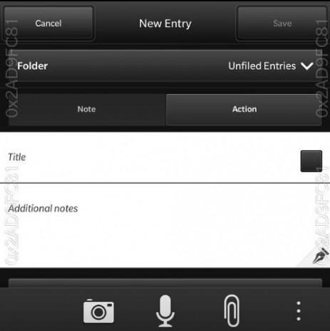 BlackBerry 10 işletim sisteminin 10.2 versiyonunun fotoğrafları - Page 1