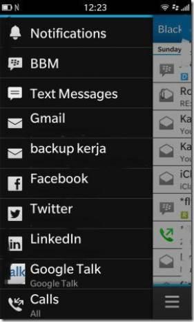 BlackBerry 10'un Twitter, Google Talk ve sesli kontrol uygulamaları - Page 4