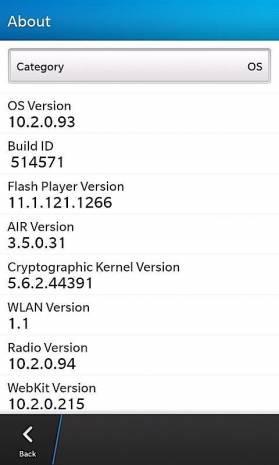 BlackBerry OS 10.2 ekran görüntüleri - Page 1