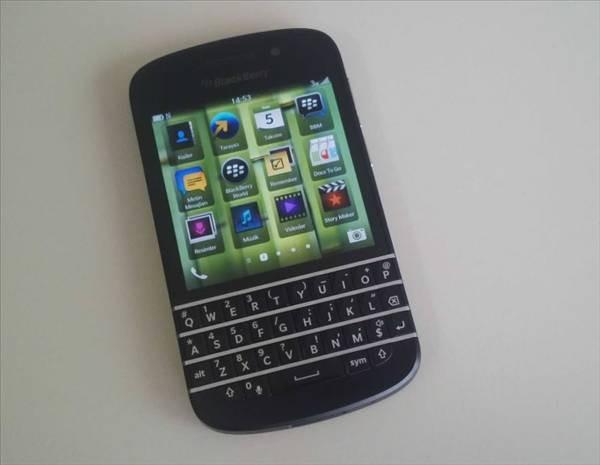 BlackBerry Q10 fotoğrafları - Page 1