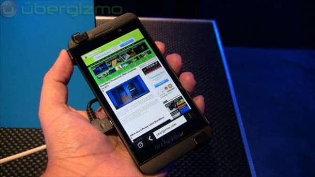 Blackberry Z10'a ilk bakış - Page 2