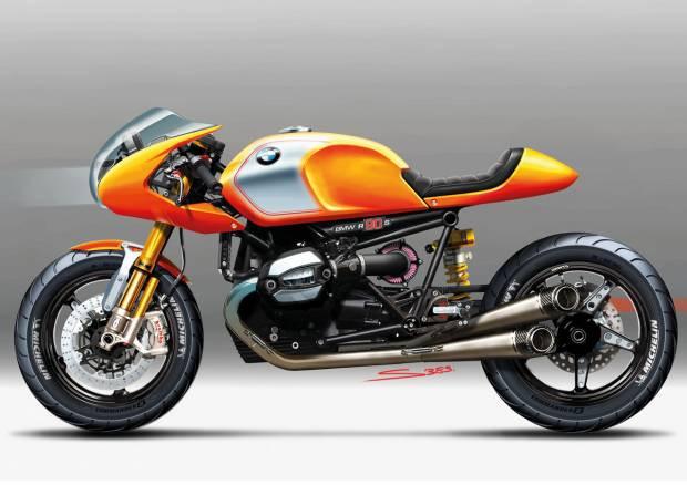 BMW 90 Motosiklet konsepti harika! - Page 1